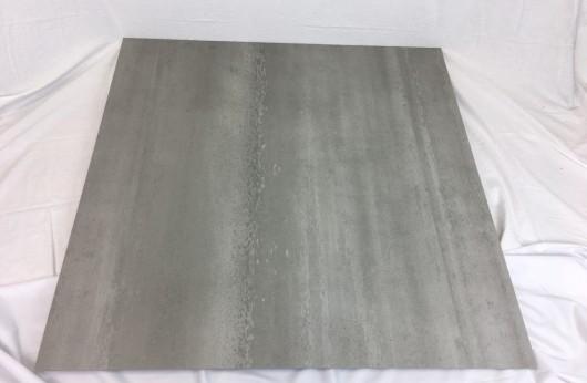 Lastra 3,5 mm di spessore Concrete Nature Grey 100x100 in gres con rete 1°scelta
