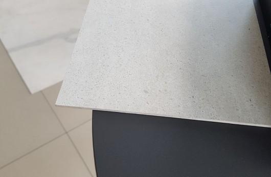 Lastra in gres 3,5 mm di spessore con rete Grigio Chiaro