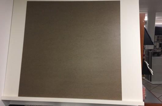 Lastra 3,5 mm di spessore in gres Brown con rete 1°scelta formato 100x100 cm