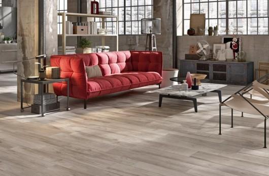 Pavimento effetto legno North Wilde Grey per esterno R11