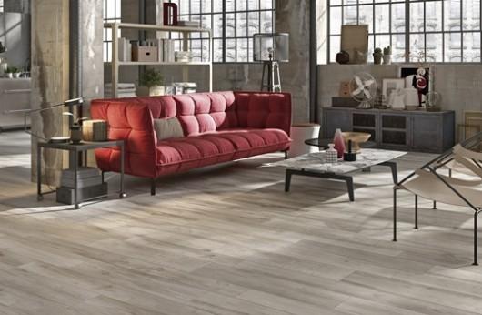 Pavimento in gres porcellanato effetto legno North Wilde Grey 1° Scelta
