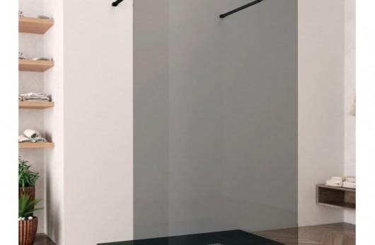 Anta Open Space colore Black cristallo temperato 8 mm