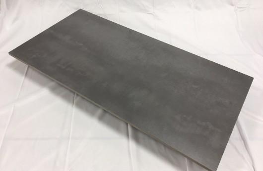 Pavimento in gres 11 mm spessore Grigio Antracite 40x80