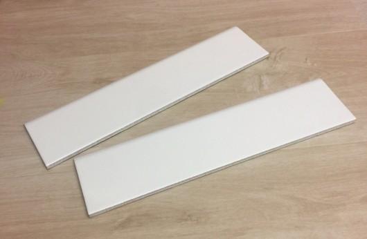 battiscopa in gres smaltato bianco 8x33 e 8x60
