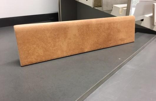Battiscopa in gres Effetto Cotto Rosso 8x30