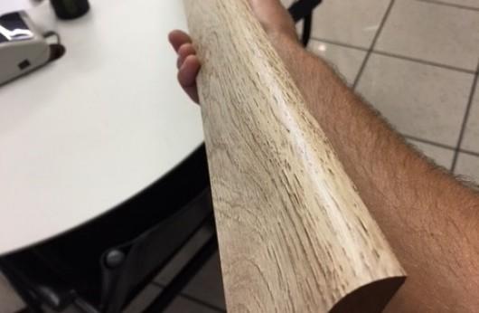 Battiscopa in mdf Marron Chiaro effetto legno