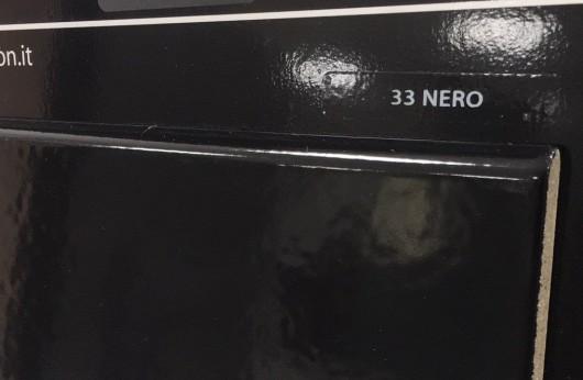 Battiscopa in gres porcellanato nero lucido 1°Scelta
