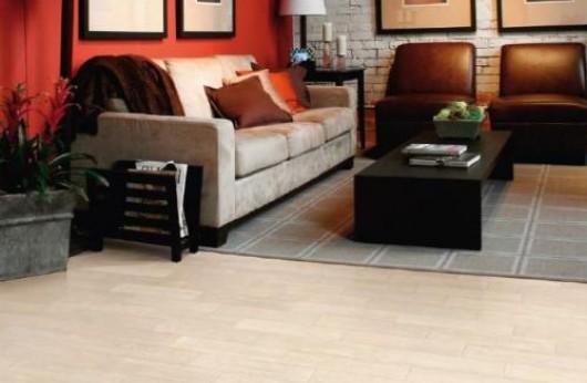 Pavimento in gres porcellanato effetto legno bianco antico 15x60 1° Scelta