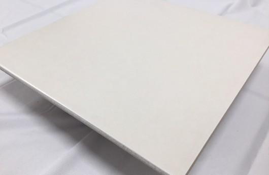 Gres porcellanato smaltato Bianco Cemento per interno liscio 1°Scelta