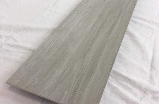 Lastra 5 mm di spessore in gres Effetto Legno Bianco 1°scelta 20x120