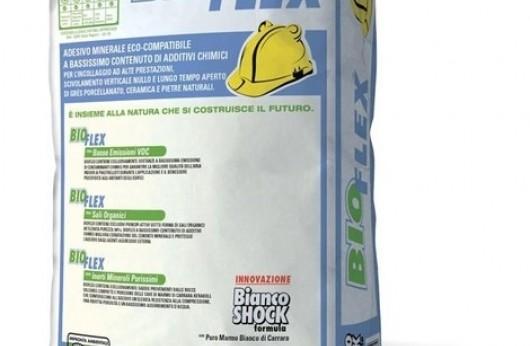 Bioflex Kerakoll sacco da 25 kg con 1 sacco si posano 6 mq