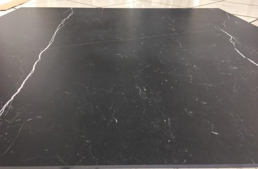 Lastra in gres Black Marquinia 120x120 spessore 6 mm 1°Scelta