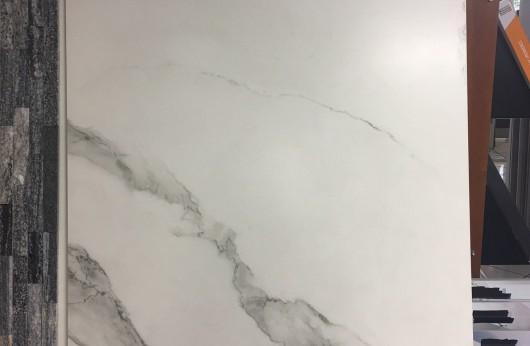 Lastra in gres Calacatta 5,5mm di spessore 100x100 1°Scelta
