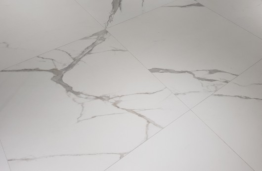 Lastra in gres Calacatta opaco spessore 5,5 mm 1°Scelta
