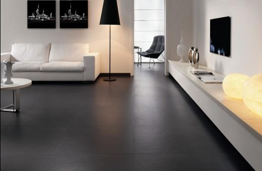 Pavimento Colors Nero 60x60 in gres porcellanato rettificato