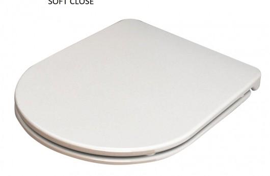 Vaso filo muro Zero Opera sanitari con Coprivaso Soft close