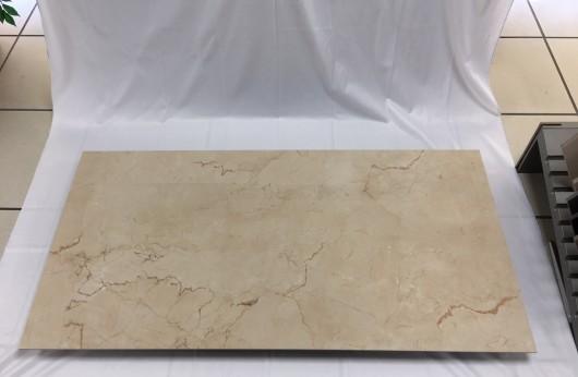 Gres Effetto marmo Crema Beige 1°scelta 60x120 spessore 5,5 mm