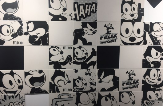 Decoro Felix The Cat Black&White 20x20