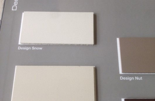 Lastra in gres porcellanato 3 mm spessore Design Snow