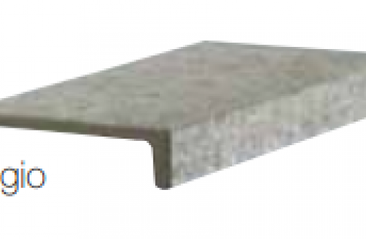 Elemento a elle monolitico grigio Terraforte Tuscania 1°Scelta