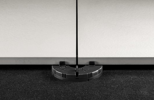 Supporto in gomma per pavimenti galleggianti da esterno
