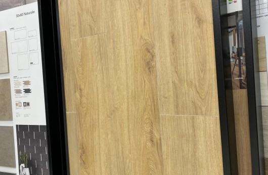 Pavimento in gres porcellanato effetto legno Farm Miele 1° Scelta