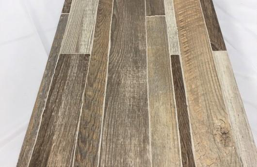 Muretto in gres effetto legno Beige 31x62