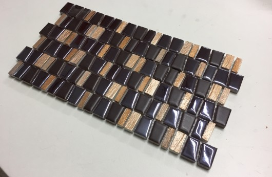 Mosaico Freedom Verticale Brown