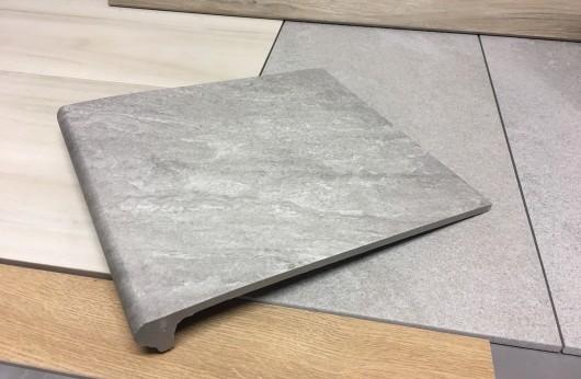 Gradone Lineare Grey monolitico