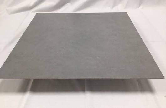Lastra 3,5 mm di spessore in gres Grey con rete 1°scelta 50x50