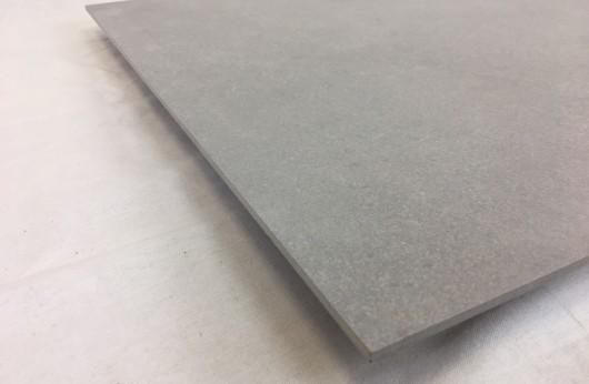 Lastra 5 mm di spessore in gres Grigio 1°scelta 60x60