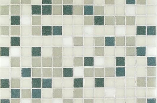 Mosaico mix grigio 2x2