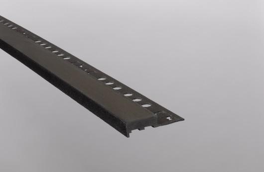 Gradino squadro antracite barra da 2,5 m