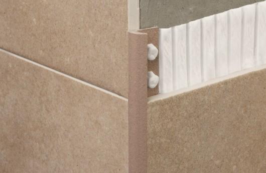 Profilo stondato PVC Cannella