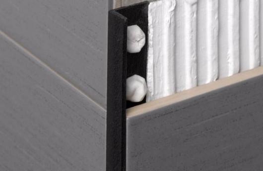 Profilo sottile PVC Nero