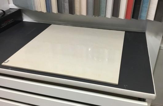 Pavimento in gres porcellanato levigato effetto Marmo Beige stella