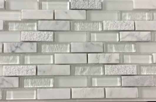 Mosaico Muretto Ghiaccio serie Superfici