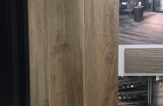 Pavimento in gres porcellanato effetto legno North Wilde Brown 1° Scelta