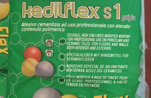 Kedilflex S1 Bertolani C2TE con 1 sacco si posano 6 mq