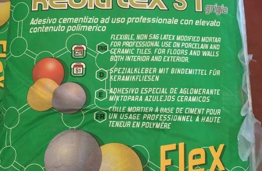 Colla Kedilflex S1 Bertolani C2TE con 1 sacco si posano 6 mq