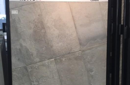 Gres porcellanato serie Kotto Cenere 40x80