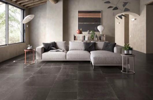 H Viva ceramica nero 80x80