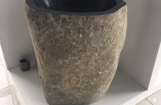 Lavabo pezzo unico in pietra naturale Flinstones