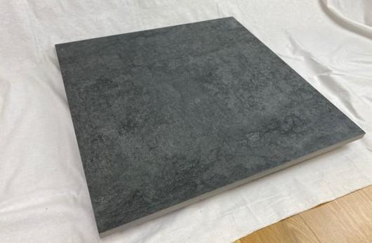 Pavimento in Gres galleggiante Lavaredo Antracite 60x60