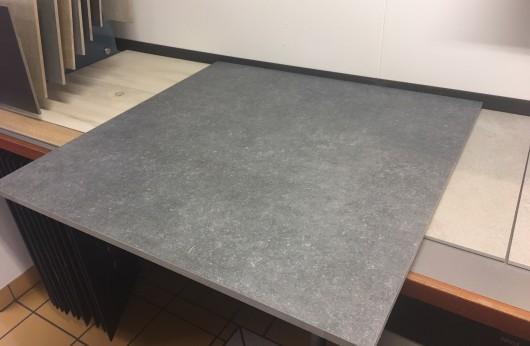 Gres porcellanato 18 mm di spessore 90x90 Grigio