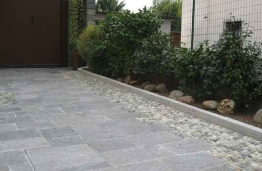 Pavimento in Gres galleggiante 2 cm. Luserna 40x80