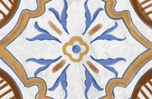 Cementina Maiolica lucida in gres porcellanato 20x20
