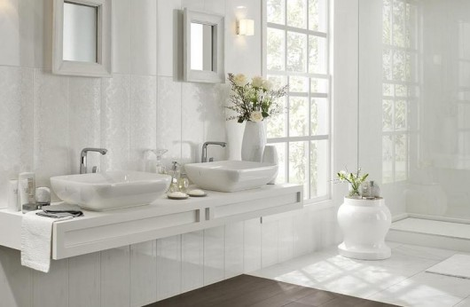 Rivestimento Bianco lucido 30x60