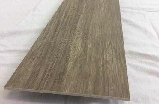 Lastra 5 mm di spessore in gres Effetto Legno Marrone 1°scelta 20x120