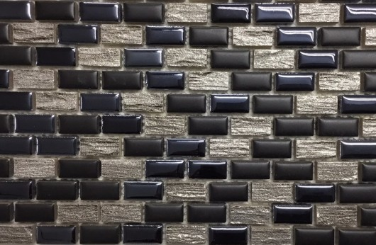 Mosaico Mini Brick Black